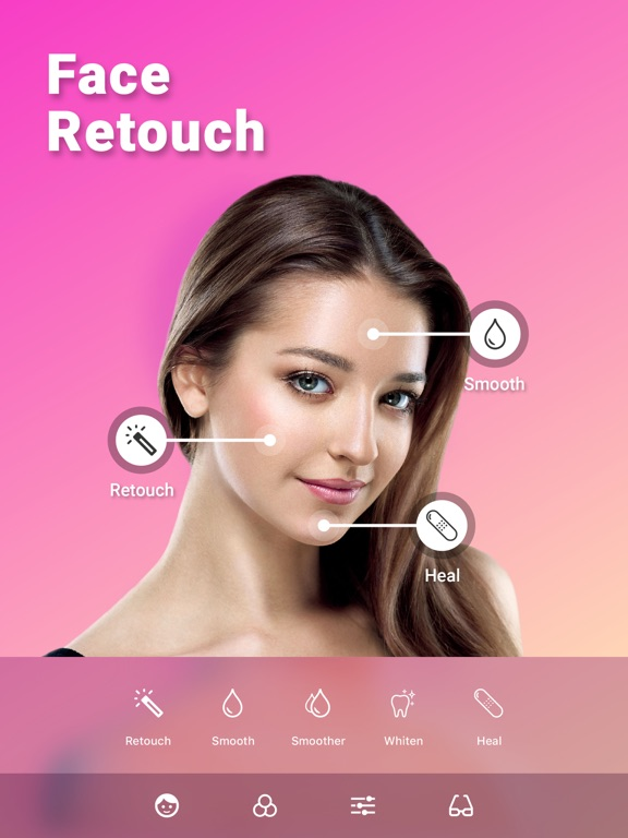 Screenshot #4 pour Retouche Photo Visage