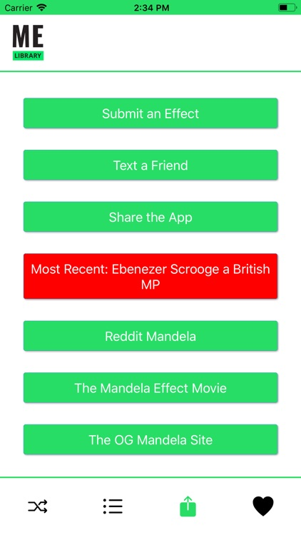 Mandela Effect Library screenshot-3
