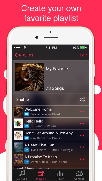 Stream Music Player