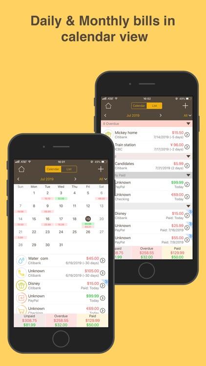 Money Monitor: Expense Tracker screenshot-5