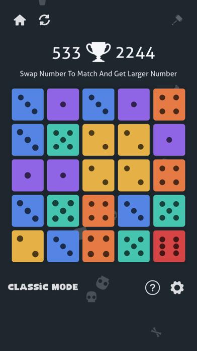 Merge Dice: Match 3 Puzzle screenshot one