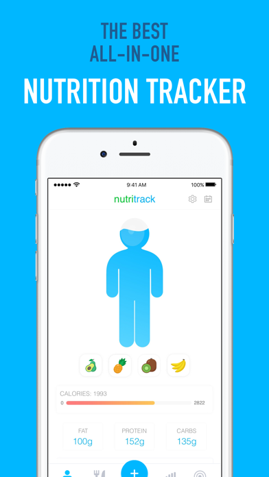 Nutritrack - Nutrition Tracker screenshot two