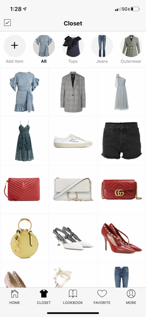 Smart Closet  Fashion Style Screenshot