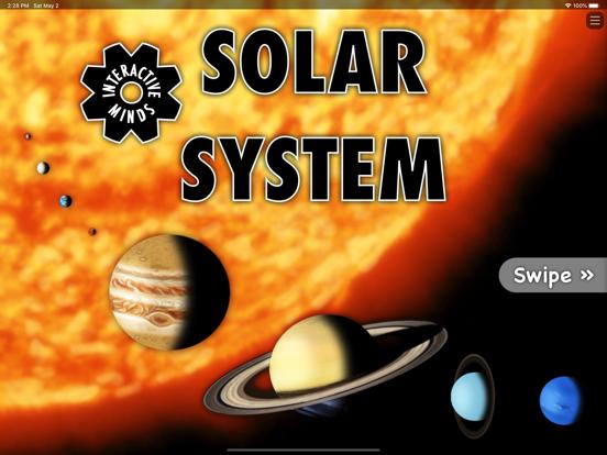 Interactive Minds Solar System Screenshots