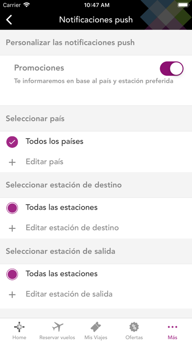 Screenshot for Volaris in Mexico App Store