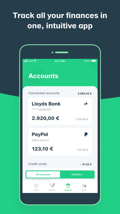 Oval - Be Money Wise screenshot-4