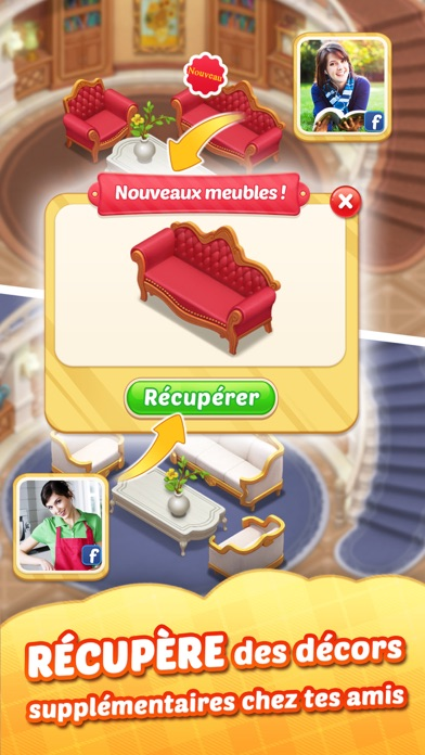 Screenshot for Matchington Mansion in France App Store