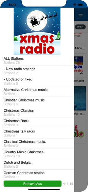 Weihnachts (Christmas) RADIO im App Store