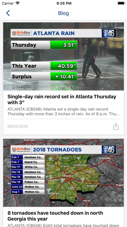 CBS46 News Atlanta screenshot-2