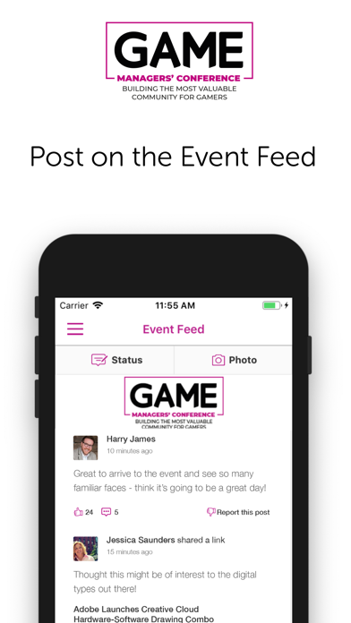 GAME Managers Conference App screenshot three