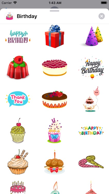 200+ Happy Birthday Stickers screenshot-5