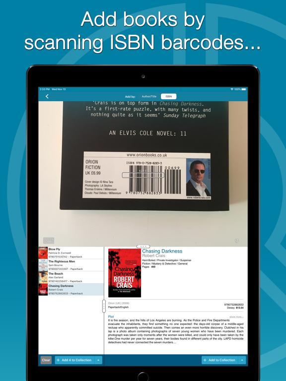Screenshot #6 pour CLZ Books - Book Database