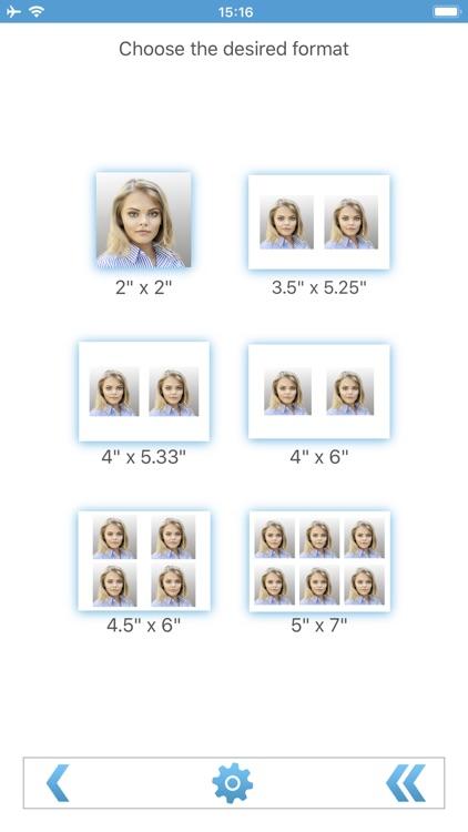 Biometric Passport Photo