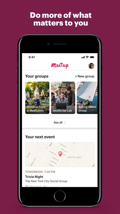 Meetup screenshot-0