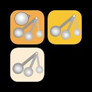 軽量スプーン計算アプリ3セット