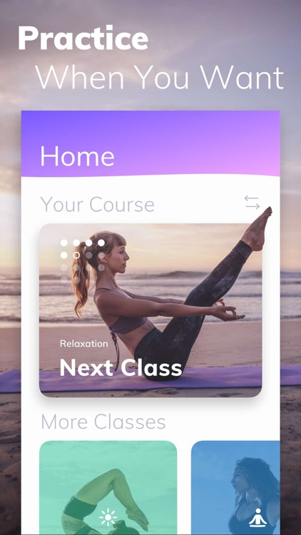 Yoga Wave: workouts and poses