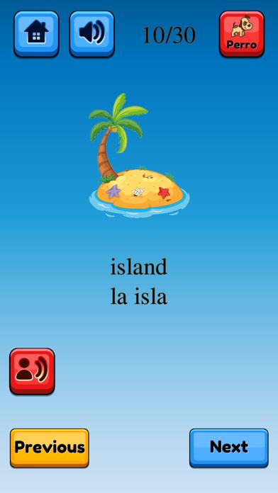 Fun Spanish Flashcards Pro screenshot #9