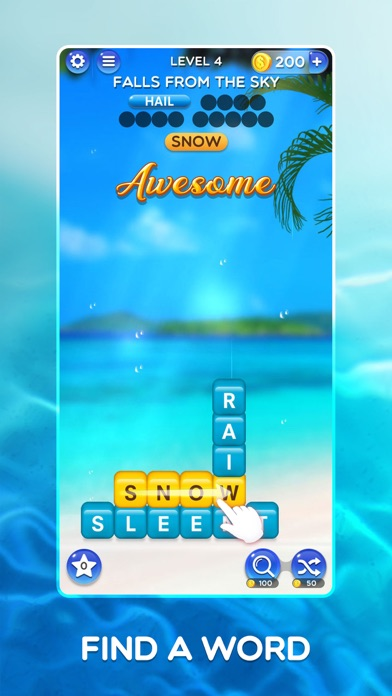 Word Crush - Fun Puzzle Game screenshot 1