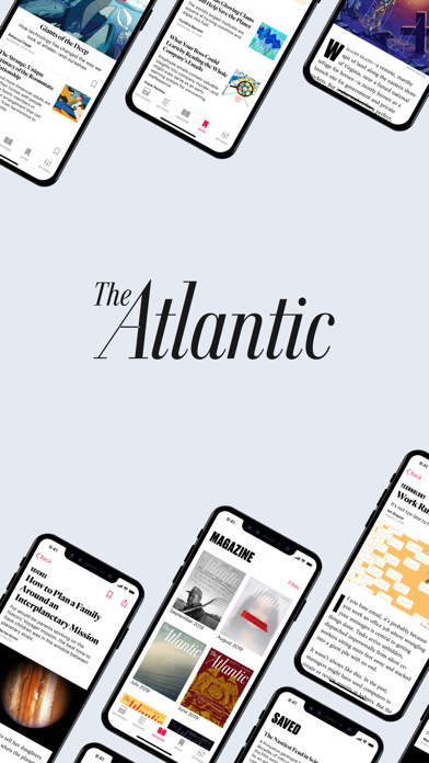 The Atlantic Magazine Screenshot