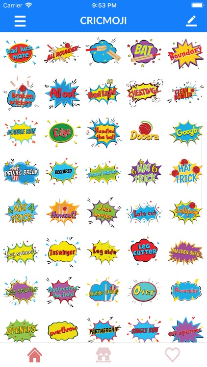 IPL Cricket Emoji Stickers screenshot-7