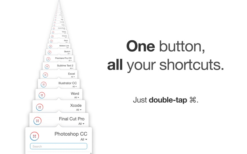 Button Shortcuts for Mac