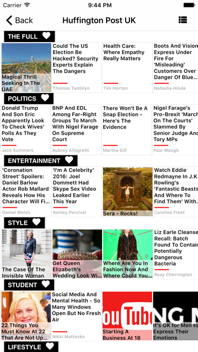 Uk Newspapers Daily News screenshot two