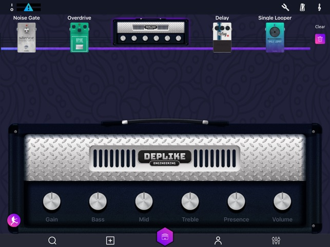 Deplike, Guitar Effects Pedals on the App Store