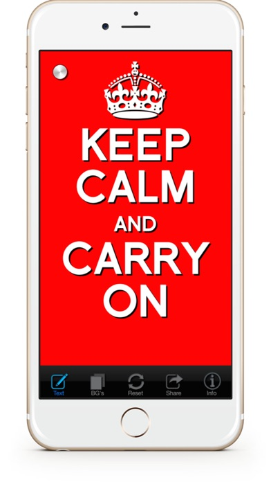 Keep Calm & Carry On:Originalのおすすめ画像1