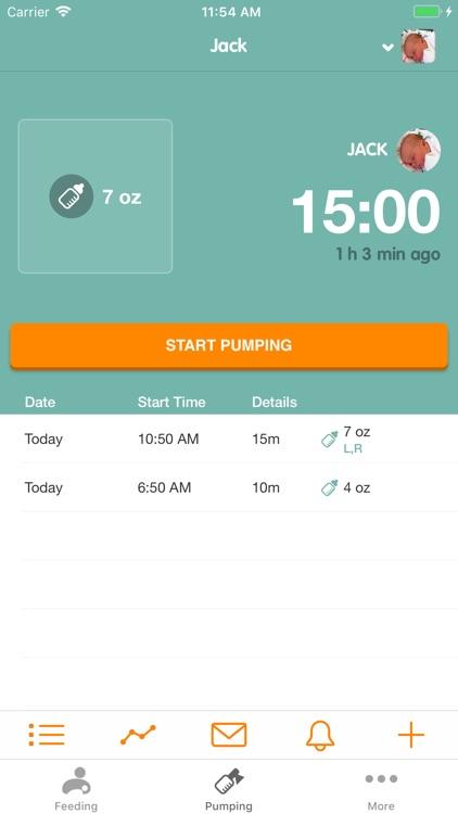 Sprout Feeding Tracker screenshot-3
