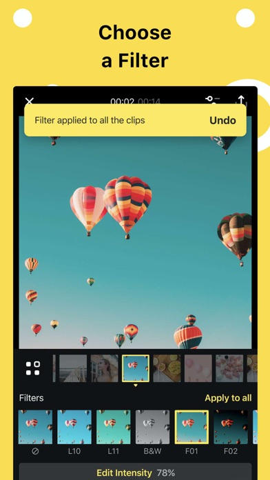 Slideshow Add Music to Photos Screenshot