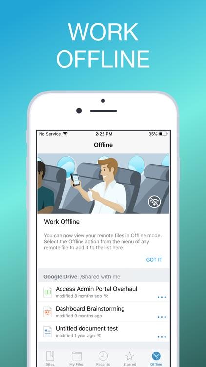 MobileIron Docs@Work screenshot-4