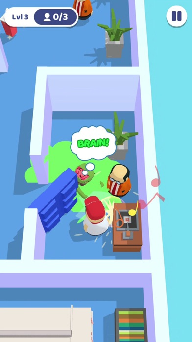 Zombie Escape 3D screenshot 2