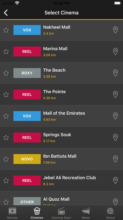 UAE Cinema Showtimes screenshot-3
