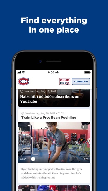Montréal Canadiens screenshot-4