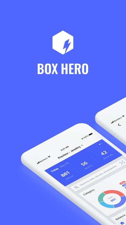 Inventory Management - BoxHero