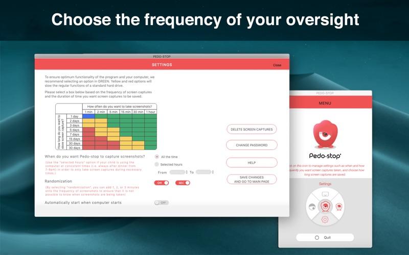 Pedo-stop скриншот программы 2