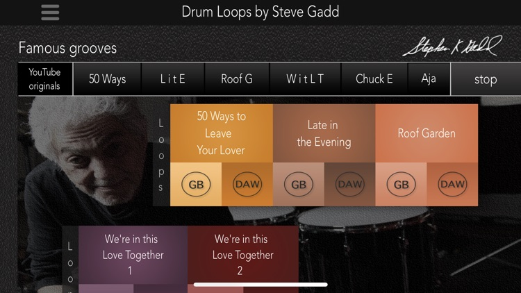 Drum Loops by Steve Gadd