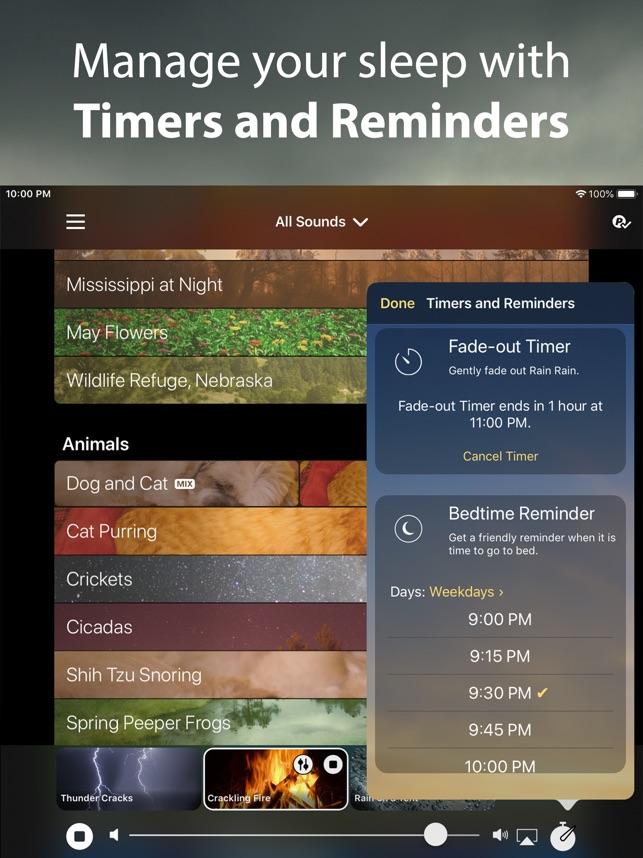 Rain Rain Sleep Sounds on the App Store