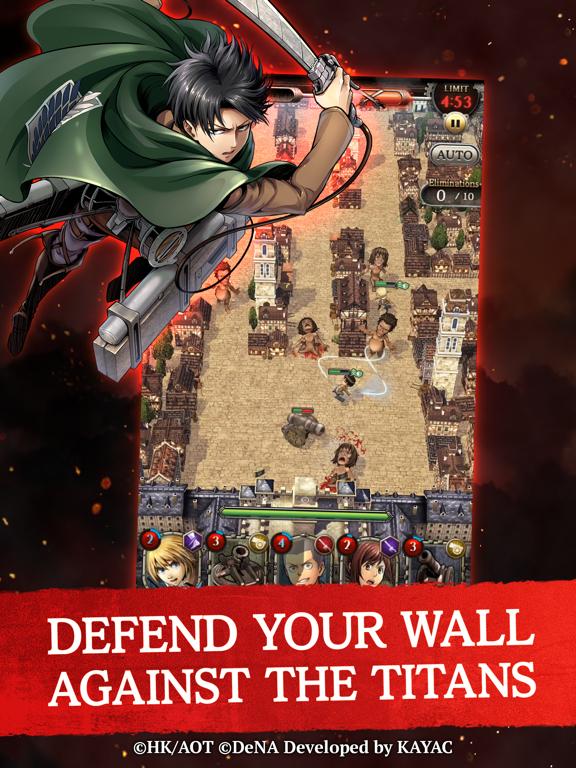 Attack on Titan TACTICS screenshot 9