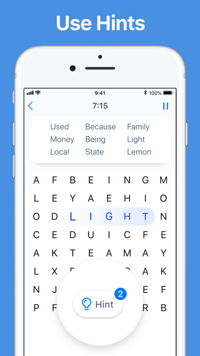 Word Search - Crossword Game screenshot 4