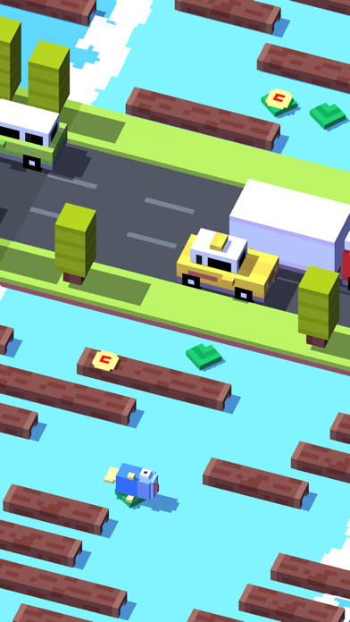Screenshot from Crossy Road