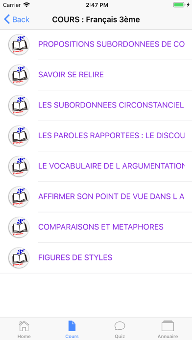 Aplus 3ème screenshot 5