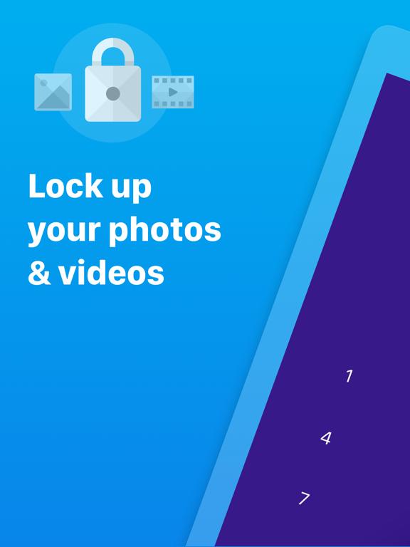 Keep Safe Private Photo Vault - Hide Photos & Lock Videos | Secret Lock Albums with Passwords screenshot