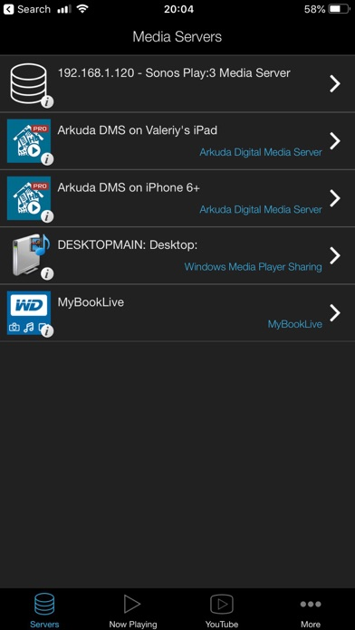 ArkMC Pro UPnP media streaming IPA Cracked for iOS Free Download