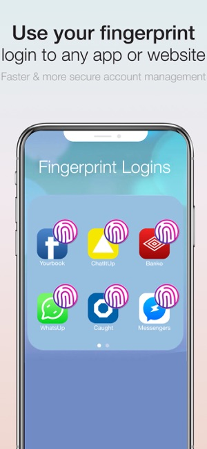 Fingerprint Login:PassKey Lock on the App Store