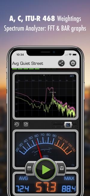 Decibel X: dB, dBA Noise Meter on the App Store