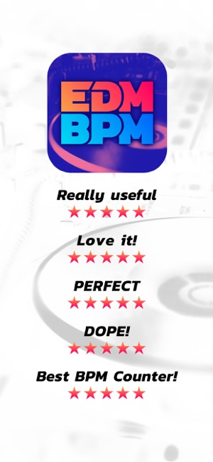 EDM BPM - BPM Counter for DJs on the App Store