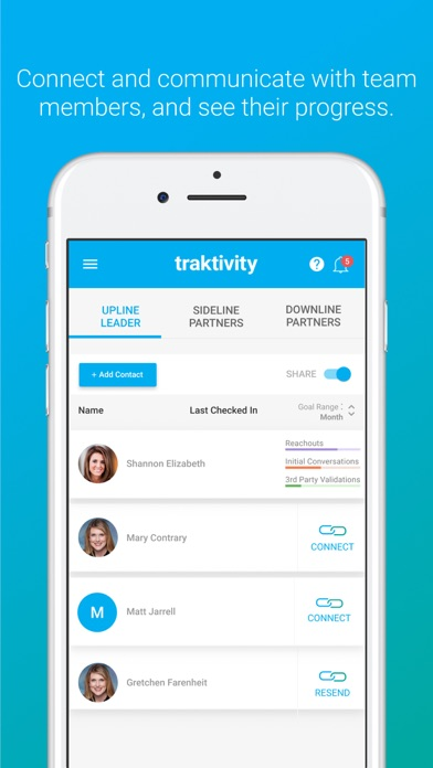Traktivity App Screenshot