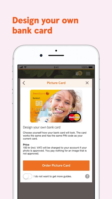 Screenshot for Swedbank private in South Africa App Store