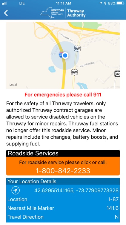 NYS Thruway Authority screenshot-4